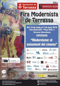 cartell exposició de cinema a Terrassa